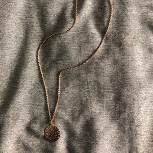 Forever 21 Jewelry - Gold Tribal Necklace